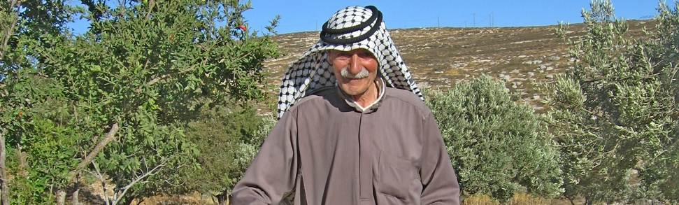 Elder of Yanoun village
